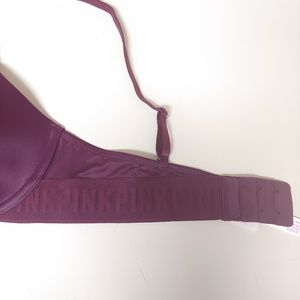Victoria's Secret Intimates & Sleepwear - NWT PINK T-Shirt Lightly Lined Bra, Size 34B